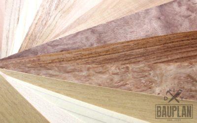 Holzarten durch Maserung und Farbe erkennen