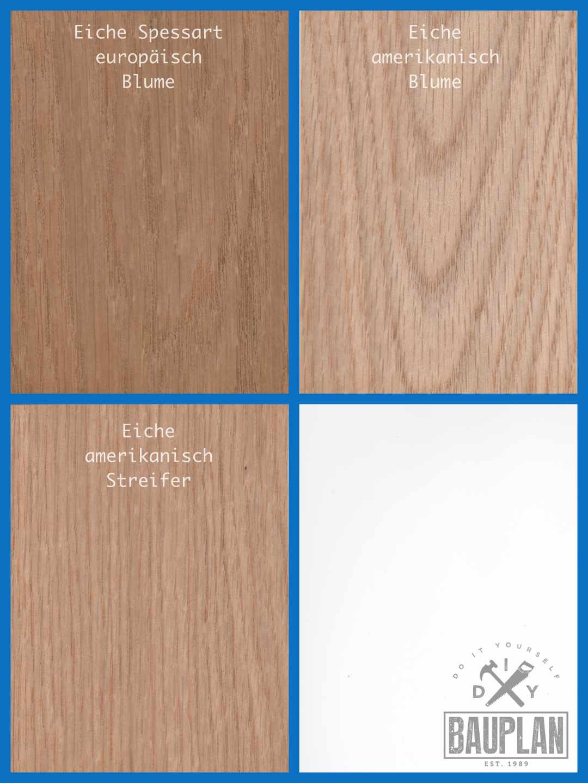 Holzarten In Farbe Und Maserung Erkennen Werkstoff Holz Diy Bauplan