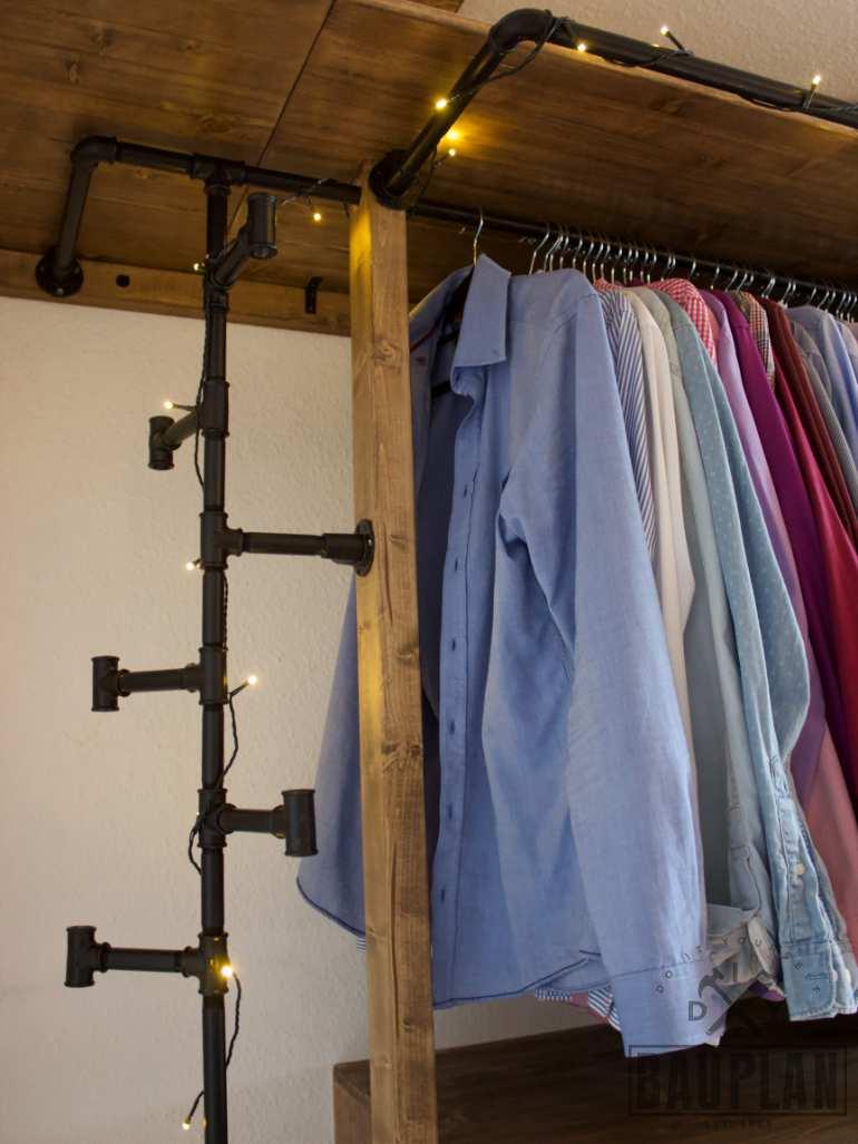 Kleiderschrank Selber Bauen Diy Schlafzimmer Projekt Diy Bauplan