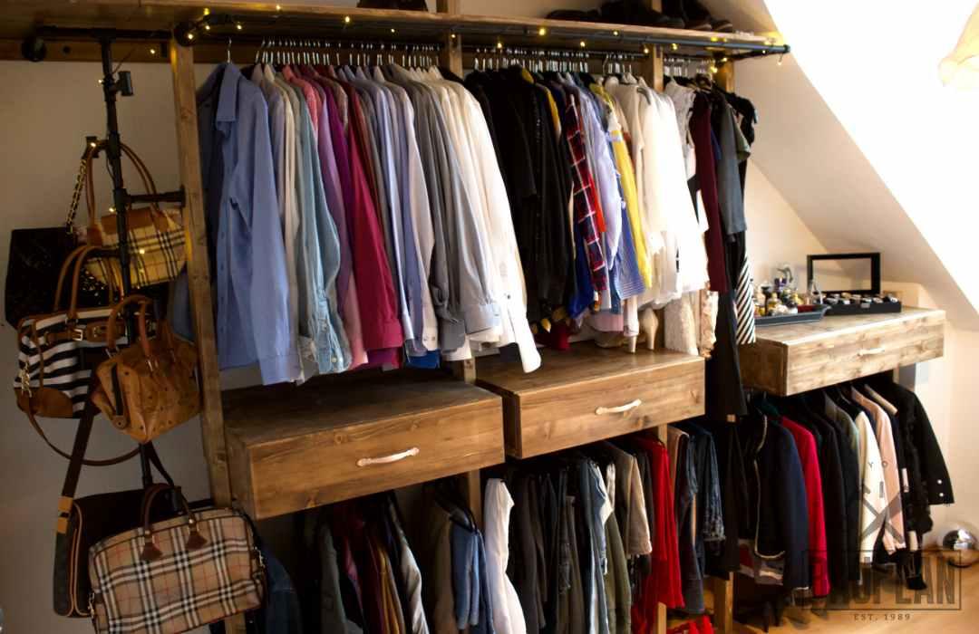 Häufig Kleiderschrank selber bauen | DIY Schlafzimmer Projekt | DIY Bauplan GO42