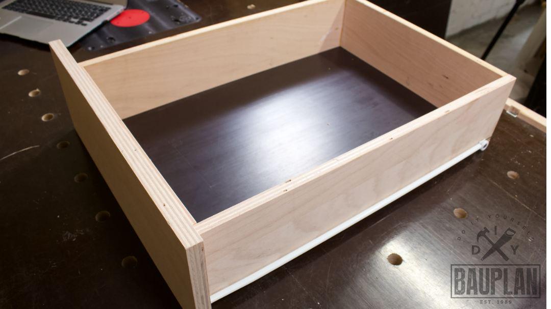 Berühmt Welcher Auszug ist der richtige? | Schublade selber bauen | DIY IA12