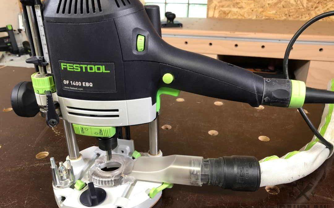 Festool Oberfräse OF1400 EBQ-PLUS im Test